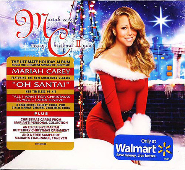 release date of the second christmas cd was set for november 2nd 2010 but the cd was sent to the fans who bought it on pre sale exclusively at hsn - Mariah Carey Merry Christmas Songs
